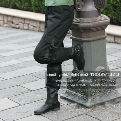Women's Low Knee Boots Riding