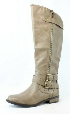 Rampage Womens Brown Riding Boots Size 8