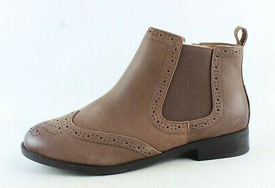 Vionic Womens Country Sawyer Brown Chelsea Boots Size 8.5