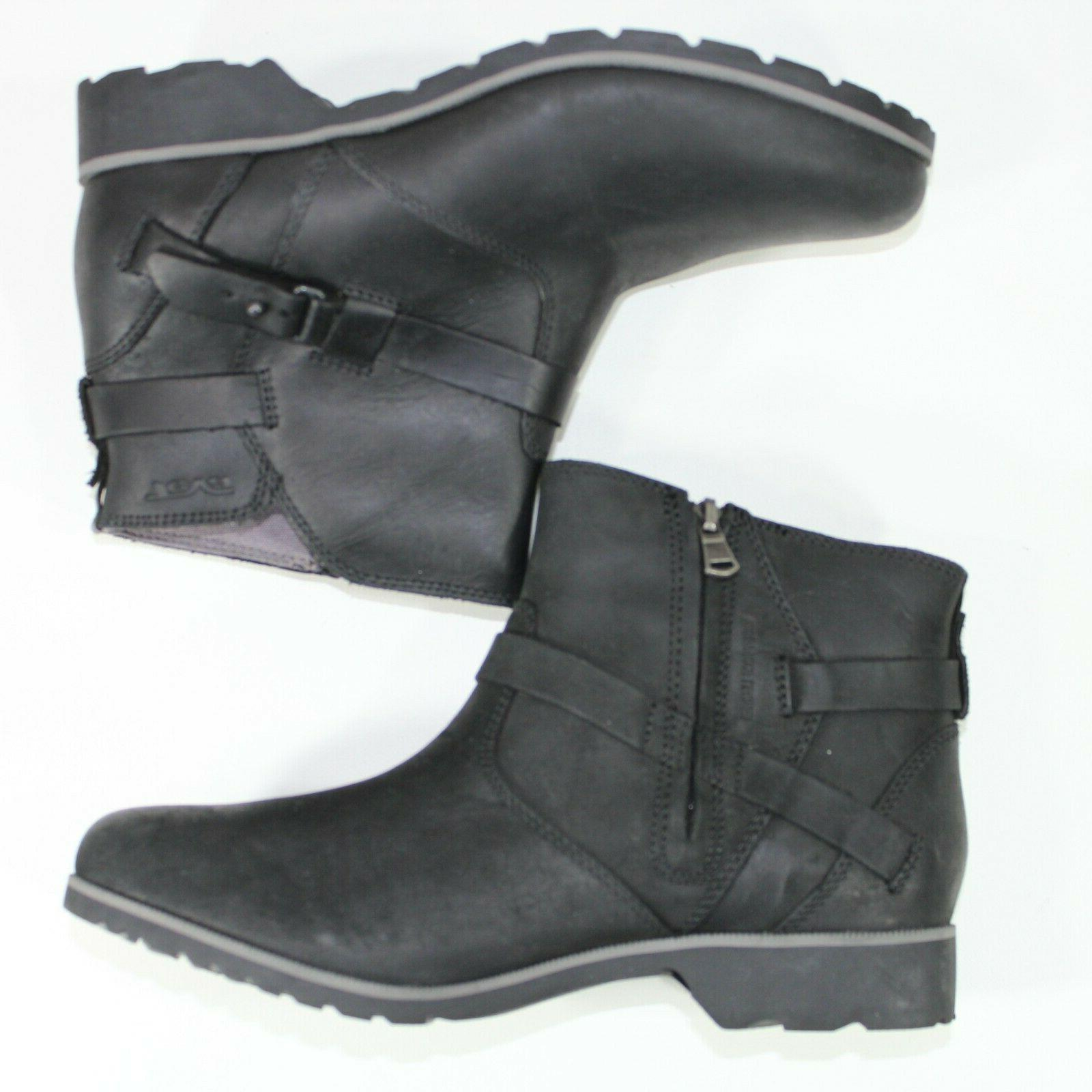 Teva Womens Vina Ankle Black Boots Casual 1008009