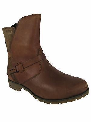 Teva Womens Delavina Low Leather Boot