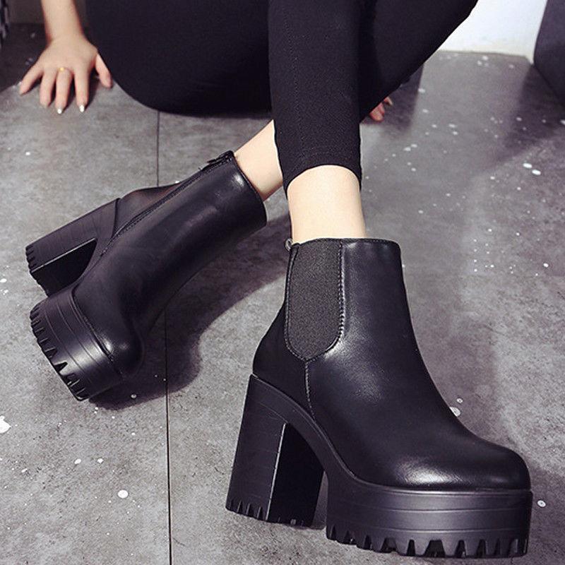 Womens Tick Boots Heel US