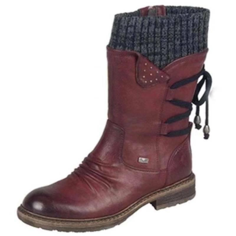 Womens Lace Ladies Winter Warm Shoes Size
