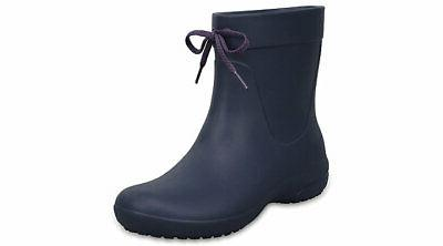 Crocs Womens Freesail Shorty Rain Boots