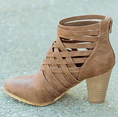 Ankle Boots Booties Winter Shoes Size