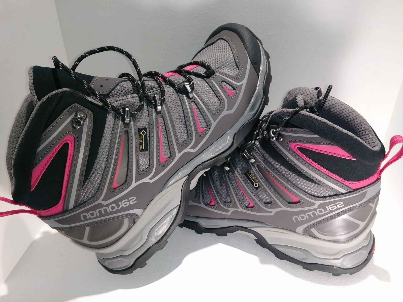 Salomon  Womens Hiking Boots XUltra Mid2 GTXW Nightshade WAT