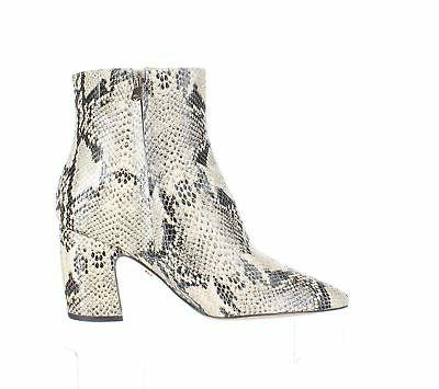 Sam Edelman Hilty Bk/Tan Snake Boots Size 9.5