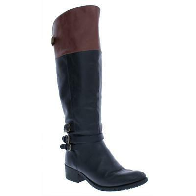 womens imbra black leather riding boots shoes
