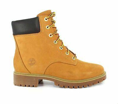 7c8ae20af68 Timberland Womens Jayne 6-Inch Waterproof Wheat Nubuck Boot