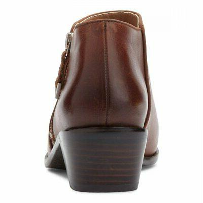 Vionic Womens Leather Fashion Boots, 7.5