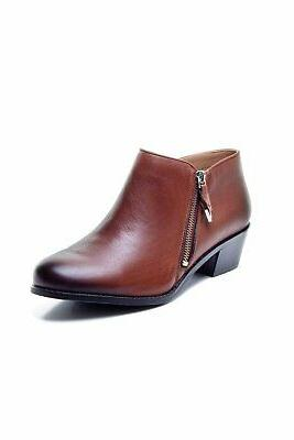 Vionic Womens Jolene Leather Almond Toe Fashion Mocha, Size 7.5