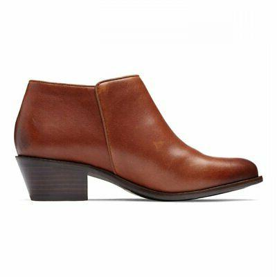 womens joy jolene leather almond toe ankle