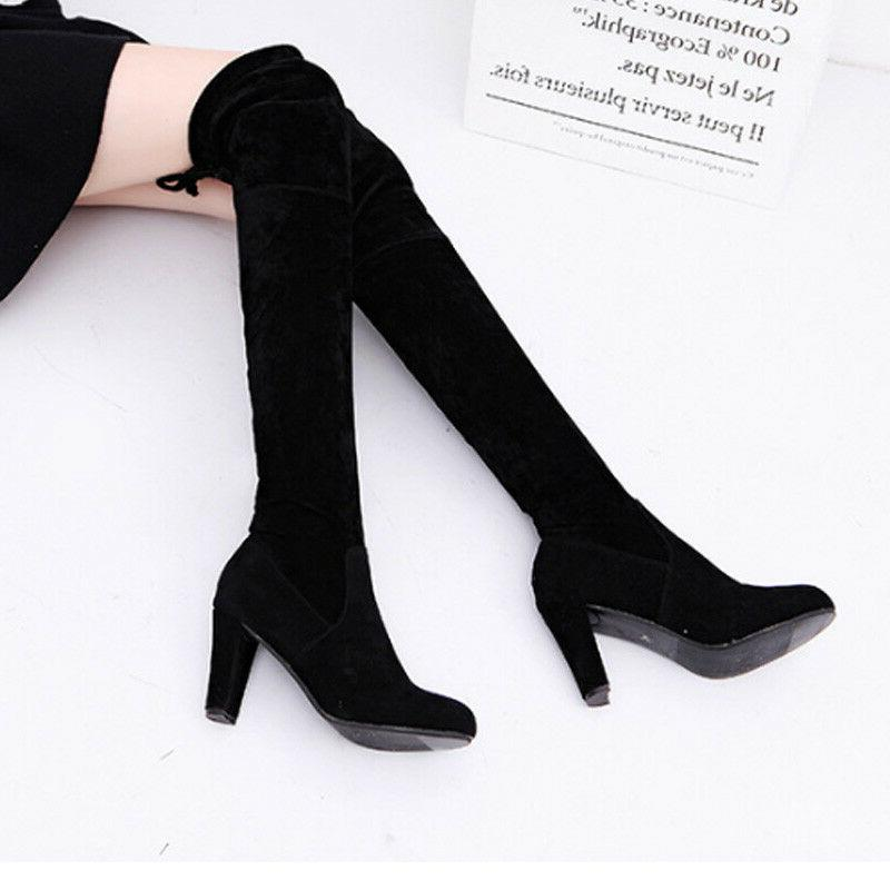 Womens Ladies Boots Party Heel