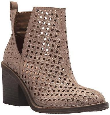 Rampage Womens obie Closed Toe Ankle Fashion Boots