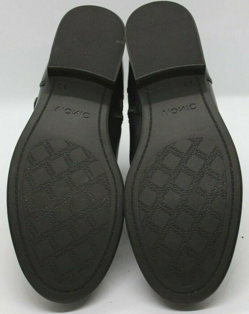 VIONIC Orthotic Logan Ankle Boots Sz Leather
