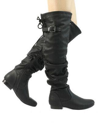 DREAM PAIRS Womens The High Heel Boots