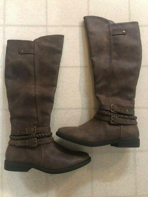 womens size 8 5 m suede brown
