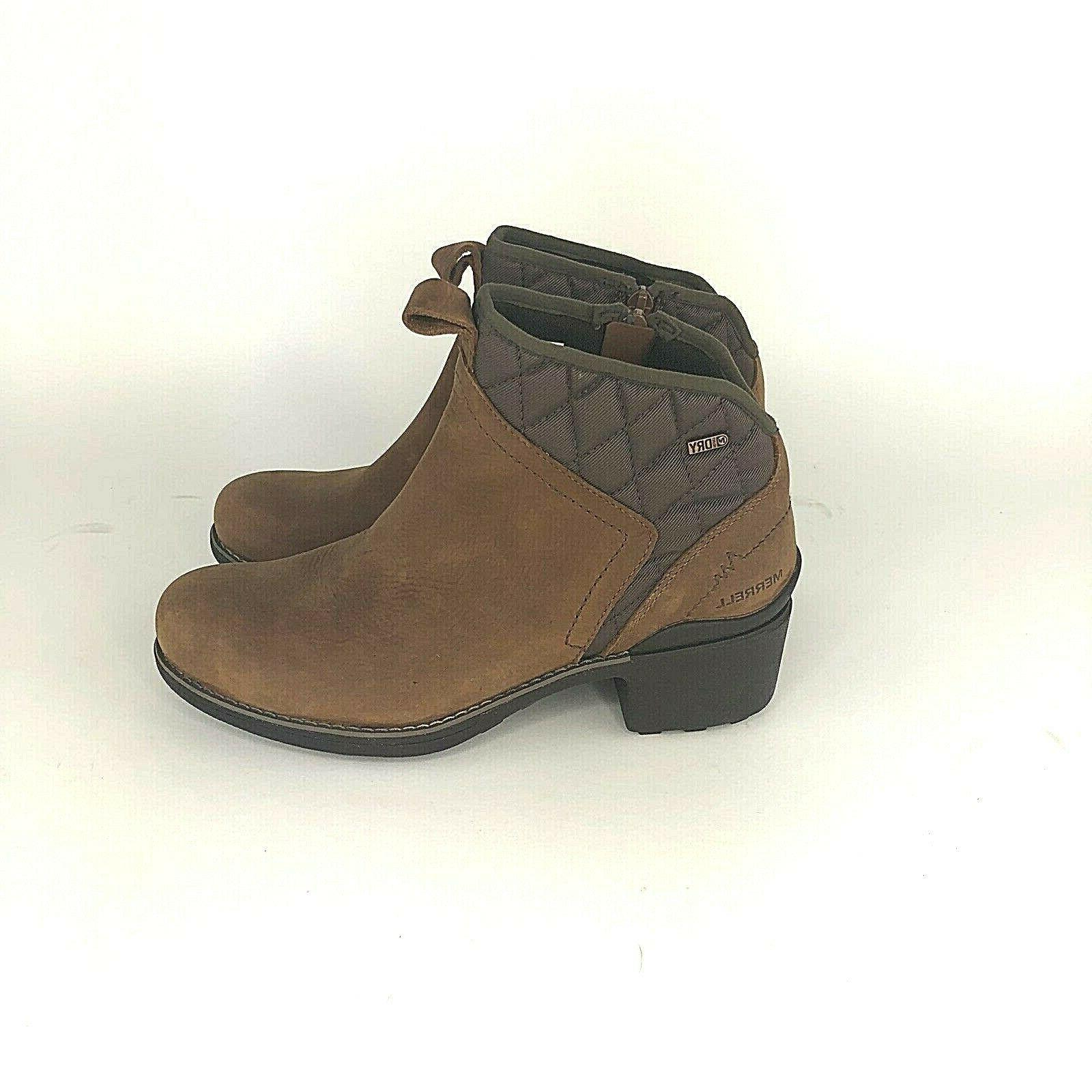 Merrell Size Chateau Mid Snow Brown
