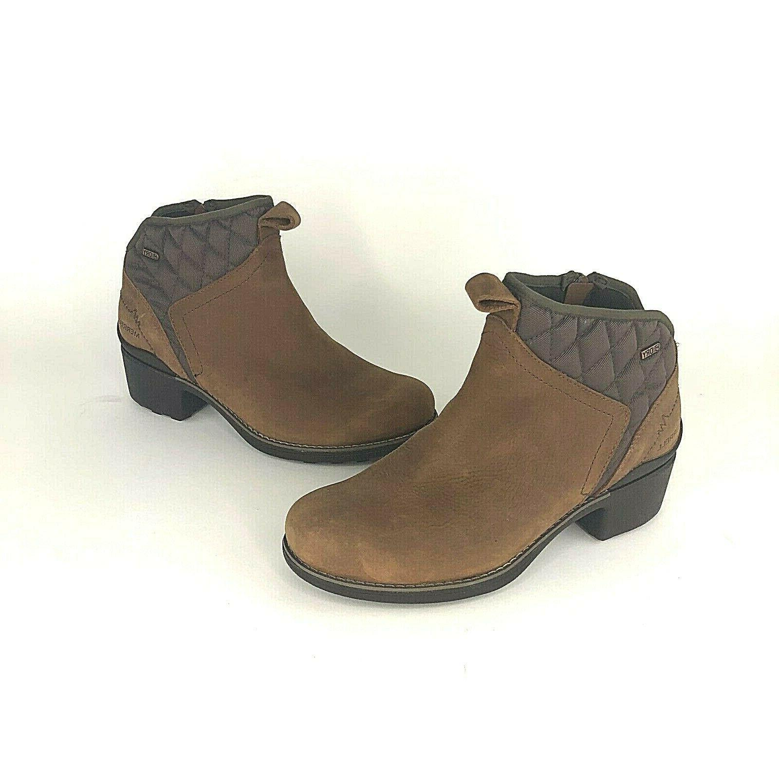 womens size 9 chateau mid pull waterproof