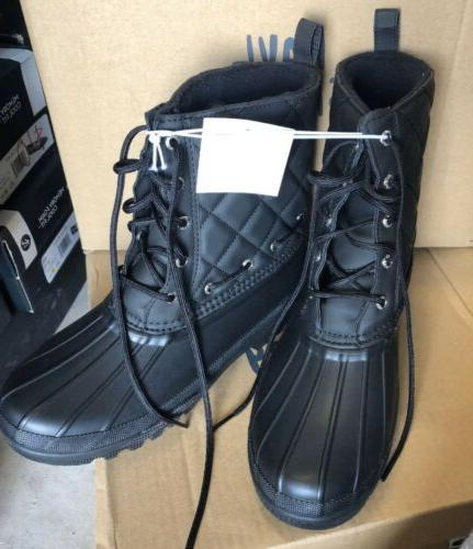 womens sperry duck boots size 10