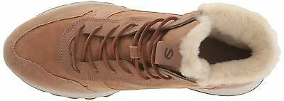 ECCO Womens Leather Cap Toe Cold Weather Boots
