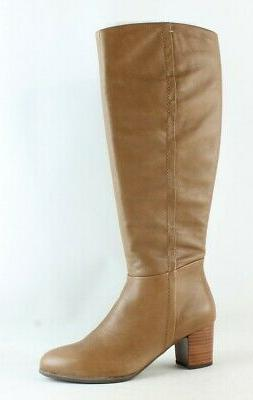 Vionic Womens Tahlia Brown Fashion Boots Size 10
