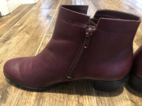 Ecco Womens Touch Dress Ankle Boots ~ Us Eu