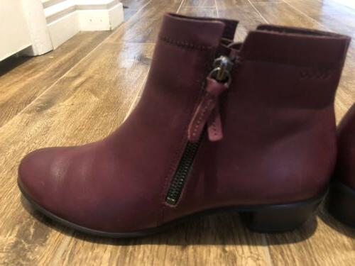 Ecco Womens Dress Ankle Boots ~ Us 7.5