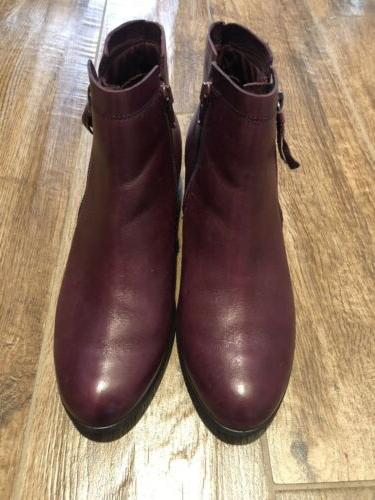 Ecco Ankle Boots Sz Us 7.5