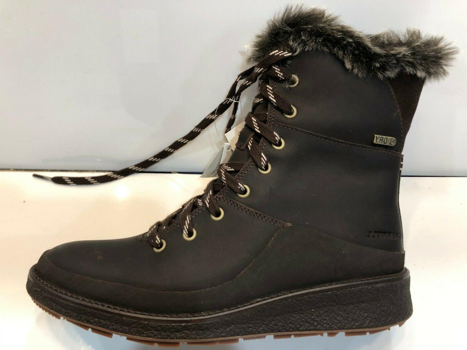Merrell Womens Lace Boots