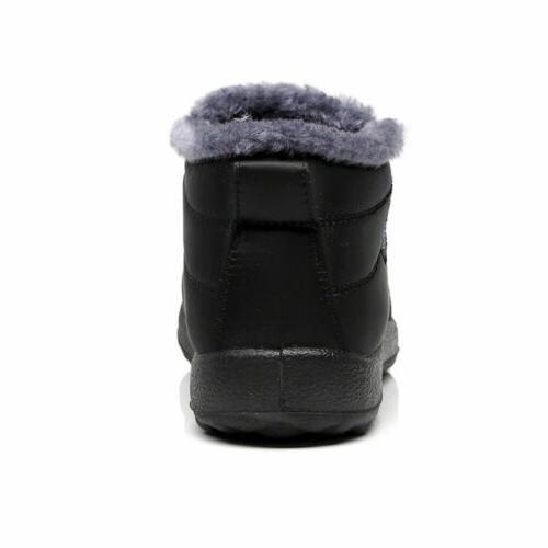 Womens Warm Fur Lined Shoes