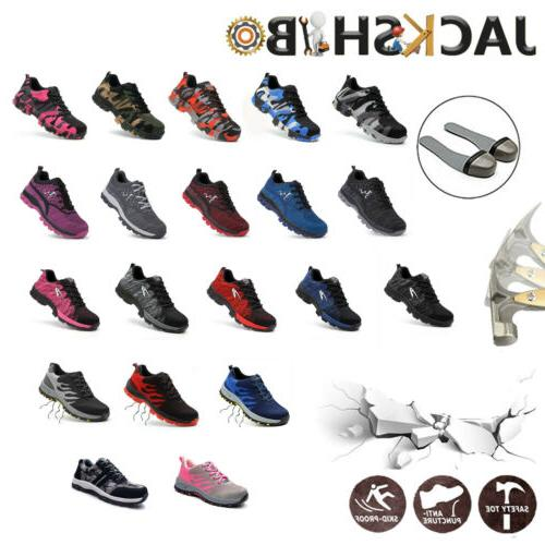 womens work safety shoes breathable outdoor hiking