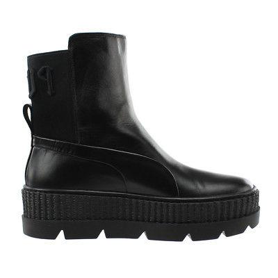 Puma Rihanna Chelsea Sneaker Boots Black - Womens
