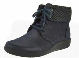 CLOUDSTEPPERS by Clarks Lace-up Ankle Boots Sillian Frey Nav