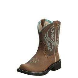 Ariat Ladies Fatbaby Heritage Tan Rowdy Boots 10014080