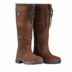 Dublin Ladies River Boots III 10 XW Chocolate