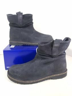 Birkenstock Luton Women's Size 8Reg Graphite Hydrophobic Sue