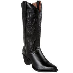 Dan Post Women's Maria Western Boot,Black,6.5 M US