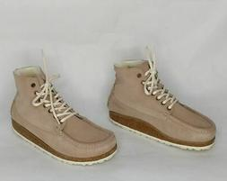 Birkenstock Marton Sz 7-7.5  Narrow Nude Beige Chukka Boots