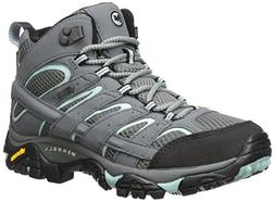 Merrell Women's Moab 2 Mid Gtx Hiking Boot, Sedona Sage, 9.5