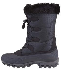 Kamik Momentum 9 1/5 Womens Winter Snow Rubber Nylon boots