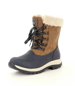 Muck Arctic Apres Lace Up Women's Size 9 Otter/Navy Waterp