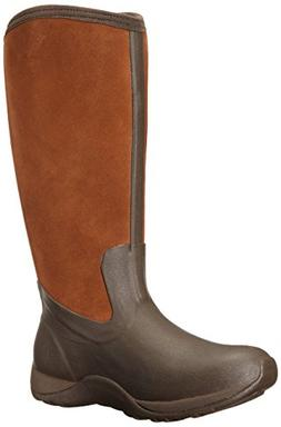 MuckBoots Women's Artic Adventure Suede Zip Snow Boot,Chocol
