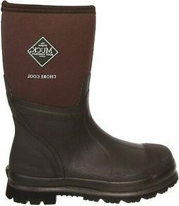 MuckBoots Chore Cool Mid Waterproof Work Boot,Brown,14 M US