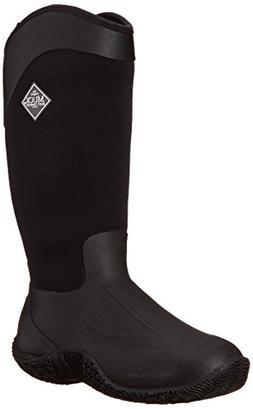 MuckBoots Women's Tack II Tall Equestrian Work Boot, Black,
