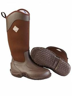 MuckBoots Women's Tack II High All Purpose Brown Boot, Size