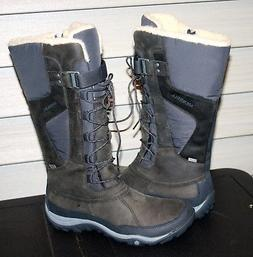 "MERRELL MURREN TALL WATERPROOF US 8.5 EU 39 Woman""s Boot Gre"