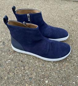 Birkenstock Myra Boots Navy Suede Size 40 Regular Womens