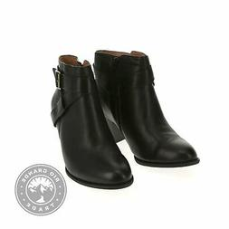 NEW Vionic 10010135BLK10W Women's Upright Trinity Ankle Boot