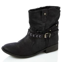 New Sugar Black Western Boots for Women Size 7.5